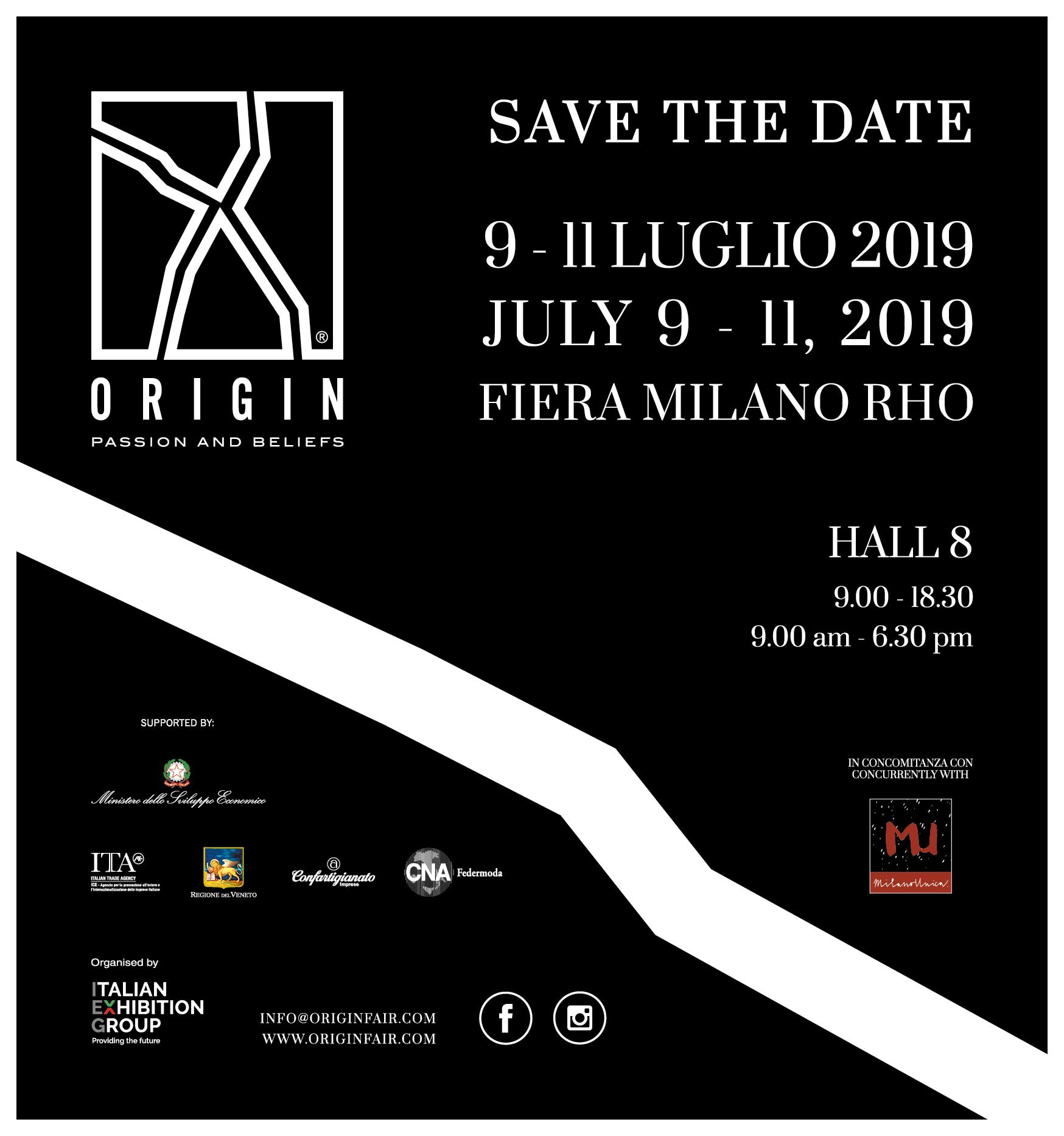 logo origin 2019